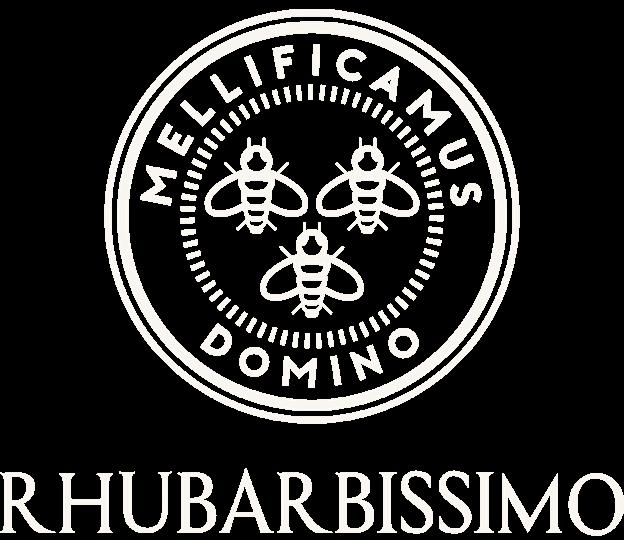 logo Rhubarbissimo, effervescent de Rhubarbe