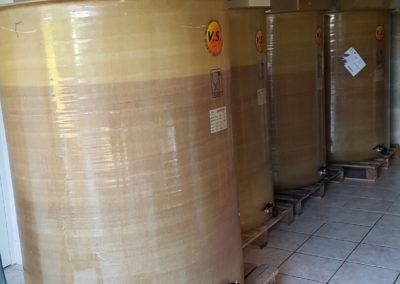 Mai 2020 mise en fermentation de la première récolte