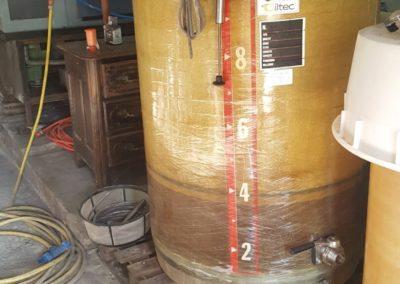 Août 2019 mise en fermentation 1ers essais